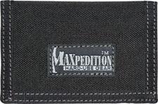 Maxpedition Micro Wallet Black 0218B Super thin design. Truly a minimalist's wal