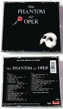 DAS PHANTOM DER OPER Deutsche Originalaufnahme .. 1989 Polydor 2-CD-Box