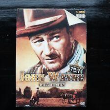 JOHN WAYNE COLLECTION - VOL.1 - BOXSET - 3 DVD - Z/W