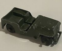 Vintage Tootsie Toy Collectible Army Jeep Made In USA