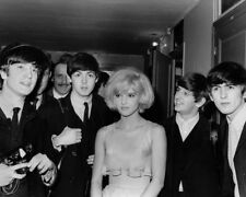 The Beatles UNSIGNED photograph - L1437 - With Sylvie Vartan