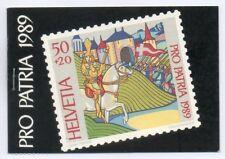 SWITZERLAND / SVIZZERA 1989 - PRO PATRIA LIBRETTO/BOOKLET MNH**