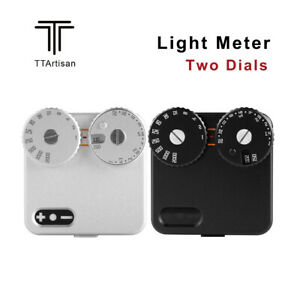 TTArtisan Light Meter Two Dials Hot/Cold Shoe Fixing High Precision Photography