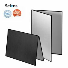 Selens Collapsible Light Flash Reflector Studio Photography Light Suction plate