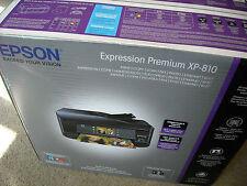 Brand NEW Epson Expression Premium XP-810 Wireless Color Inkjet Printer All-in 1