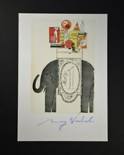 """Andy Warhol, """"Illustrations as seen in U.S."""". Hand Signed by Warhol, with COA."""