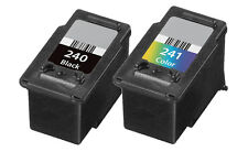 2 pk PG-240 CL-241 Ink For Canon Pixma MG2120 MG3120 MG3122 MG3220 MG4120