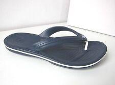 Crocs Crocband flip Sandalen blau M 12  45-46  thongs sandals navy Zehentrenner