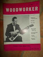 Woodworker June 1962 ~ Retro Vintage Illustrated Magazine + Advertising