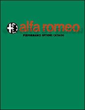 Alfa Romeo Performance Options Parts Catalog 1966 1967 1968 1969 1970 1971 1972