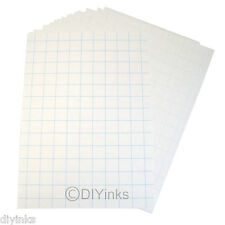 """20 Sheets Dark Fabric Inkjet Heat Transfer Paper A4 (8.27"""" x 11.7"""") For Cotton"""