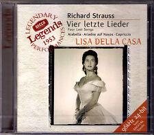 Lisa Della CASA STRAUSS Vier letzte Lieder Ariadne auf Naxos Capriccio KARL BÖHM