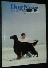 Dog News Illustrated Magazine Gordon Setter Cover +Articles Apr. 1997