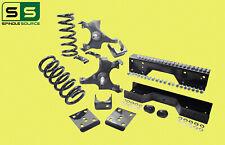 "88-91 Chevy GMC C1500 w/1"" ROTOR V8 STD CAB 4/6 Drop Kit SPNDL+COIL+FLIP+C-NOTCH"