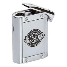 VICTOR SINCLAIR Colibri Triple Flame Cigar Table Lighter in Chrome - SHIPS FREE