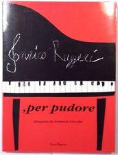ENRICO RUGGERI, PER PUDORE disegni di Tommaso Cascella - CARTE SEGRETE ED. 1994