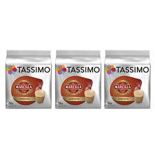 "3 PACK TASSIMO MARCILLA ""CAFE CORTADO"", SPANISH COFFE - 3 x 16 CAPSULES"