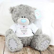 Me to You Personalised Plush Flower Girl Bear Gift - Tatty Teddy Bear