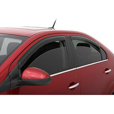 Fit 2002-06 Nissan Altima Sun/Rain Guard Wind Deflector Vent Shade Window Visors