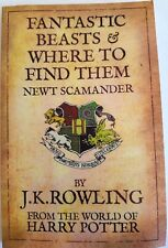 Fantastic Beasts & Where To Find Them By J.K ROWLING #9781408803011