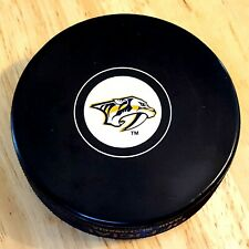 NASHVILLE PREDATORS Puck NHL Hockey Autograph Style New Low Combined Shipping