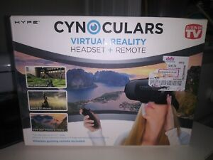 """Cynoculars Virtual reality headset + Remote as seen on tv fits device 3.5 """" wide"""