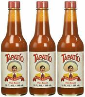 3 Pack Tapatio Salsa Picante Hot Sauce 10 oz (3 pack) New- Free Shipping