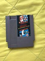 Super Mario Bros and Duck Hunt Nintendo NES Video Game Cart