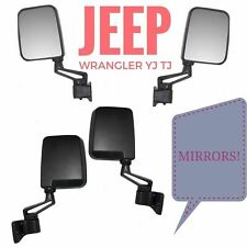 Jeep Wrangler TJ 87-02 Left and Right Side Mirror Replacement Kit