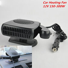 Car Heating Cooling Ceramic Heater Fan Defroster Demister 12V 150-300W Universal