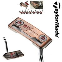 """TAYLORMADE GOLF TOUR PREFERRED TP PATINA DEL MONTE PUTTER 34"""" + SUPERSTROKE GRIP"""