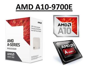 AMD A10-9700E Quad Core Processor 3.0 - 3.5 GHz, Socket AM4, 35W CPU
