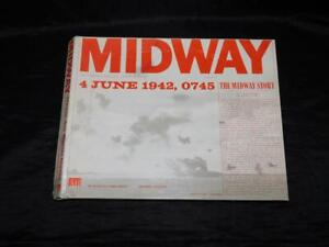 WW2 Midway Naval Air Battle Board Game Avalon Hill 601 4 June 1942 0745 Navy