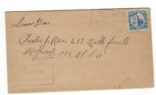 1934 San Miguel, El Salvador 8c Single Franking to Maywood New Jersey
