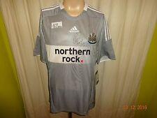 "Newcastle United Adidas Trikot 08/09 ""northern rock."" + Nr.30 Gutièrrez Gr.L Neu"