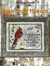 Sign From Heaven LFT495 by Stoney Creek cross stitch pattern