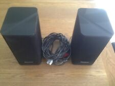 Pair of Panasonic speakers SB-FCX9 50W 8 Ohm two Drivers in one cabinet. SC-PTX7