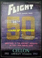 Vintage Flight Magazine, Aircraft, Spacecraft, Missiles- 3 August 1961
