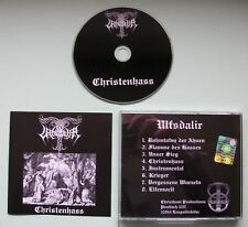 "ULFSDALIR ""Christenhass"" 1press lim. 666 (ewiges reich myrkwid idhafels throndt)"