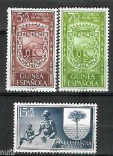 GUINEA ESPAÑOLA Edifil # 362/364 ** Dia del Sello / Stamp Day