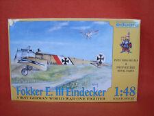 Eduard ® 8002 Fokker E. III Eindecker 1:48 Fotoätzteile photo-etched parts