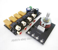 Audio Input signal Selector Relay Board/ Signal switching amplifier board DIY