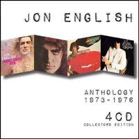 JON ENGLISH (4 CD) ANTHOLOGY 1973-1976: WINE DARK SEA~ALL A GAME~HOLLYWOOD *NEW*