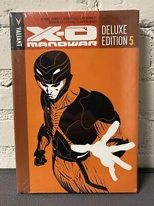 X-O MANOWAR Deluxe Edition Book 5 HC New & Sealed OOP Valiant Comics