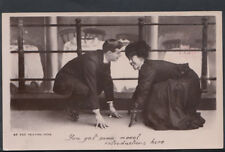 Romance Postcard - Couples - At The Skating Rink   RS 5758