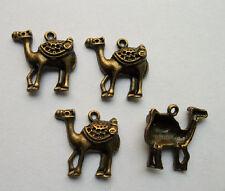 50 pcs bronze plated The camel charm pendant 24 x 24 mm