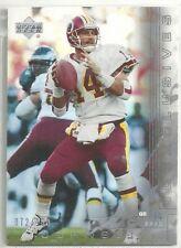 Brad Johnson 2000 Upper Deck Silver Exclusives Washington Redskins Parallel /100