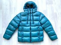 CP COMPANY D.D. Shell Outline Goggle Puffer Down Jacket  FW19/20 col. Bluejay