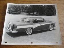 "ORIGINALE Hudson Rambler Custom 4 DOOR SALOON stampa foto ""opuscolo"" correlati"