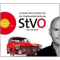 CHRISTOPH MARIA HERBST - STRAßENVERKEHRS-ORDNUNG (STVO) 2 CD NEU